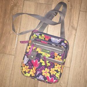 Lily Bloom Floral Crossbody Bag